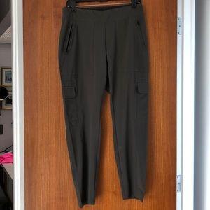 Athleta cargo pants olive/green to dark khaki